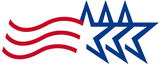 Tricare logo (Three Stars)