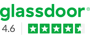 See our Glassdoor rating